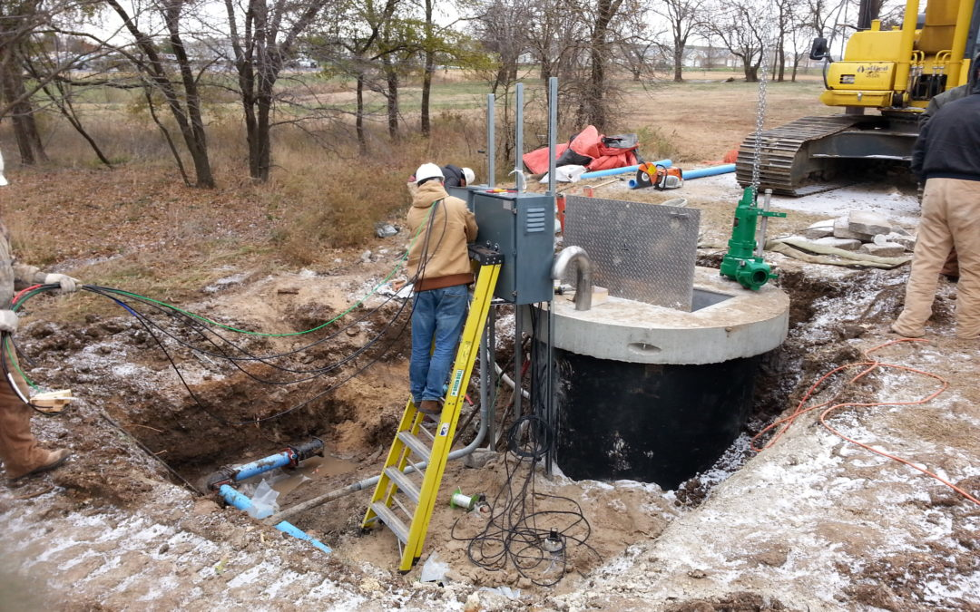 Rock Road Lift Station Improvements, Mulvane, Sedgwick County, Kansas